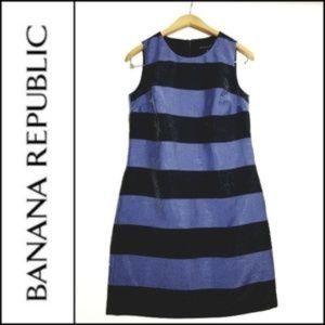 NWT Banana Republic Striped Shift Dress Size 4
